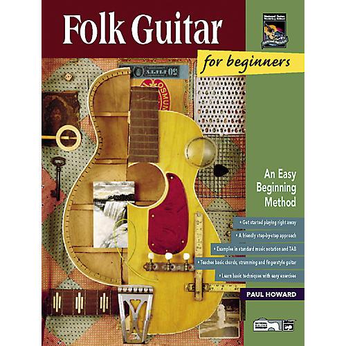 Alfred Folk Guitar for Beginners CD