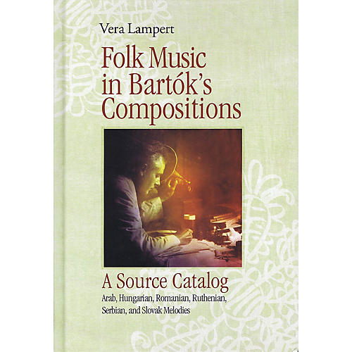 G. Henle Verlag Folk Music in Bartók's Compositions Henle Music Folios Series Hardcover