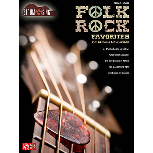 Hal Leonard Folk/Rock Favorites - Strum & Sing Series for easy guitar