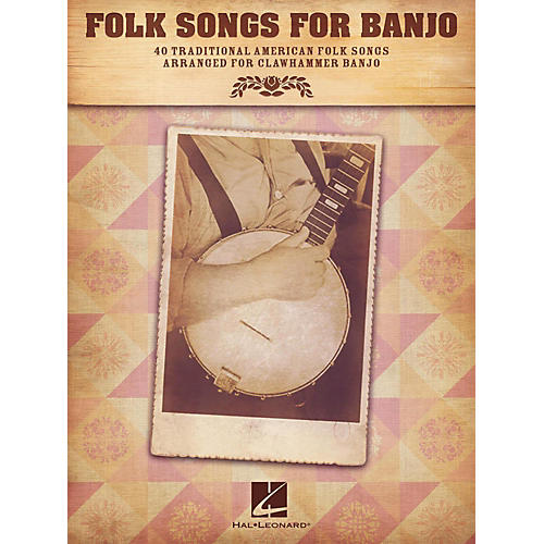 Hal Leonard Folk Songs For Banjo