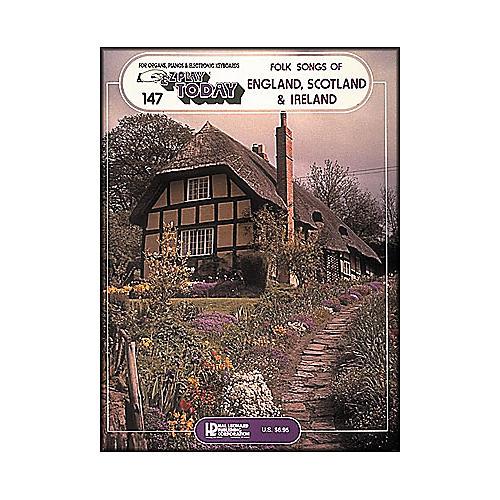 Hal Leonard Folk Songs Of England, Scotland & Ireland E-Z Play 147