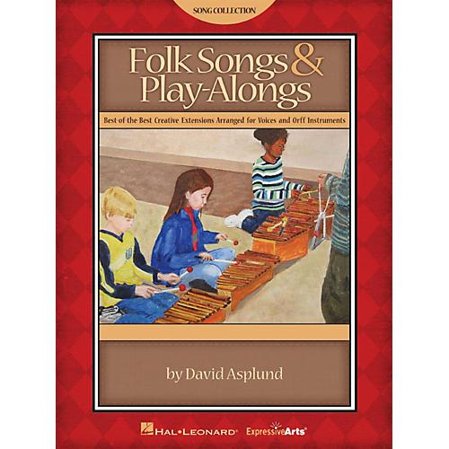 Hal Leonard Folk Songs & Play-Alongs Teacher Edition for Voice and Orff