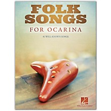 Hal Leonard Folk Songs for Ocarina - Ocarina Songbook
