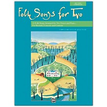 Alfred Folk Songs for Two Book