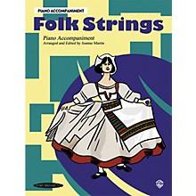 Alfred Folk Strings Piano Accompaniment (Book)