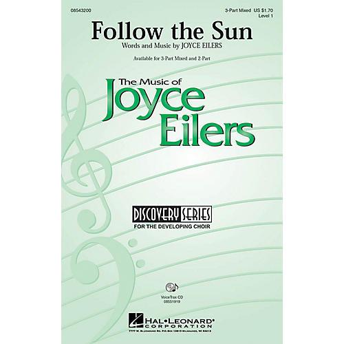Hal Leonard Follow the Sun 2-Part Composed by Joyce Eilers