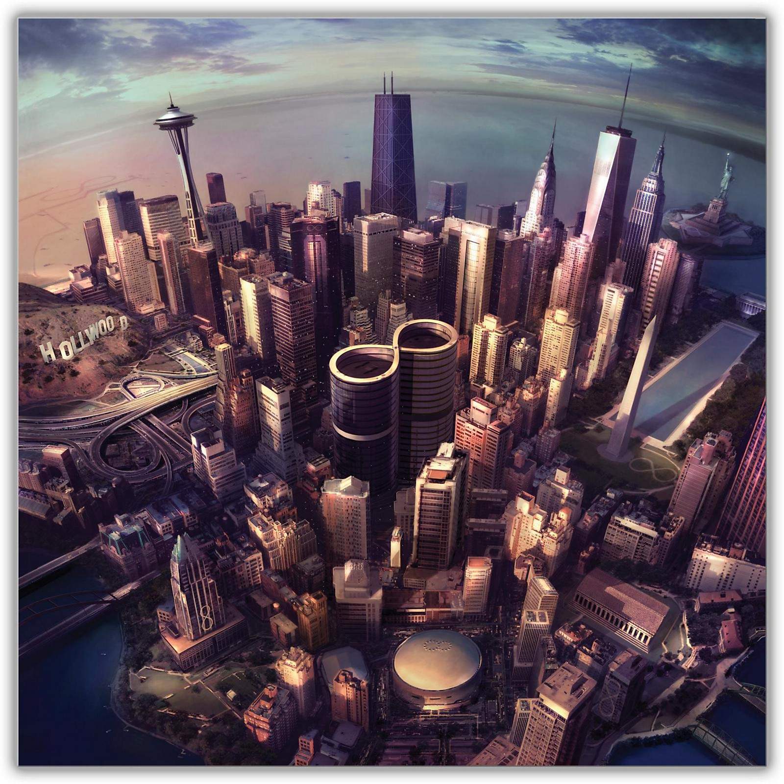 Sony Foo Fighters - Sonic Highways Vinyl LP