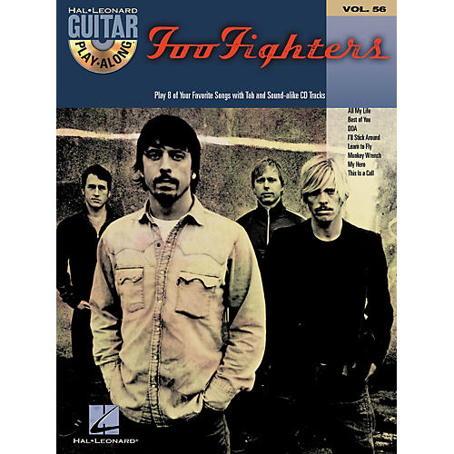 Hal Leonard Foo Fighters: Guitar Play-Along Series, Volume 56 (Book/CD)