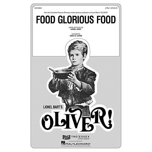 Hal Leonard Food Glorious Food ShowTrax CD