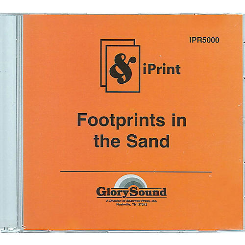 Shawnee Press Footprints in the Sand (iPrint Orchestration (CD-ROM)) Score & Parts composed by Joseph Martin