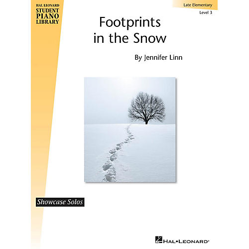 Hal Leonard Footprints in the Snow Piano Library Series by Jennifer Linn (Level Late Elem)