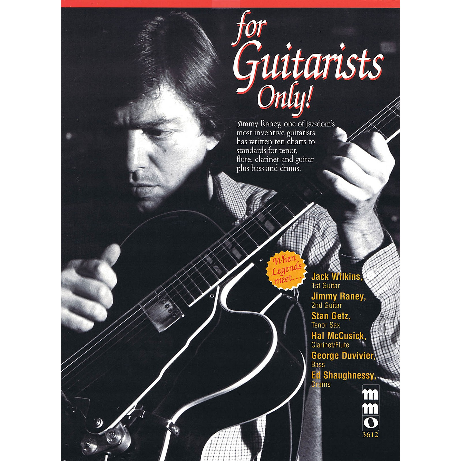 Music Minus One For Guitarists Only! Music Minus One Series Performed by Jimmy Raney