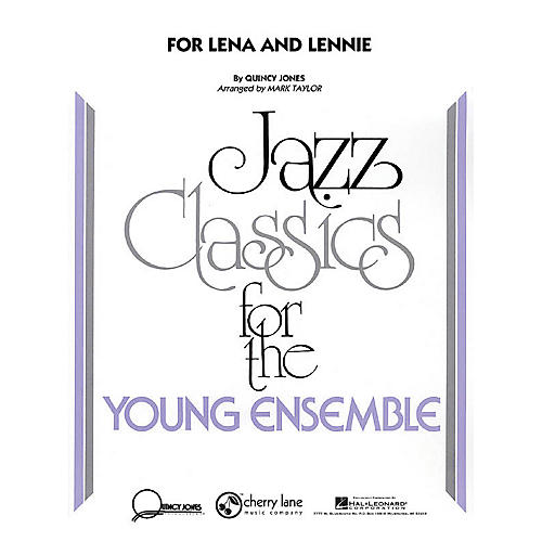 Cherry Lane For Lena and Lennie Jazz Band Level 3 Arranged by Mark Taylor
