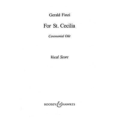 Boosey and Hawkes For St. Cecilia (Vocal Score) SATB composed by Gerald Finzi