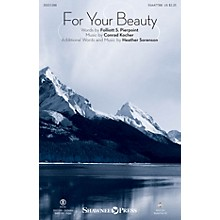 Shawnee Press For Your Beauty SSAATTBB arranged by Heather Sorenson
