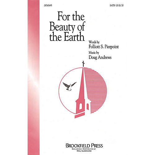 Brookfield For the Beauty of the Earth SATB composed by Folliott Sandford Pierpoint