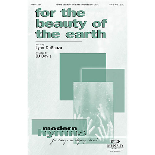 Integrity Music For the Beauty of the Earth SPLIT TRAX Arranged by BJ Davis