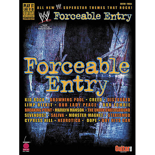 Cherry Lane Forceable Entry Guitar Tab Songbook