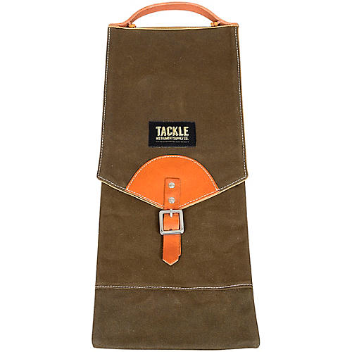Tackle Instrument Supply Forest Green Waxed Canvas Compact Stick Bag