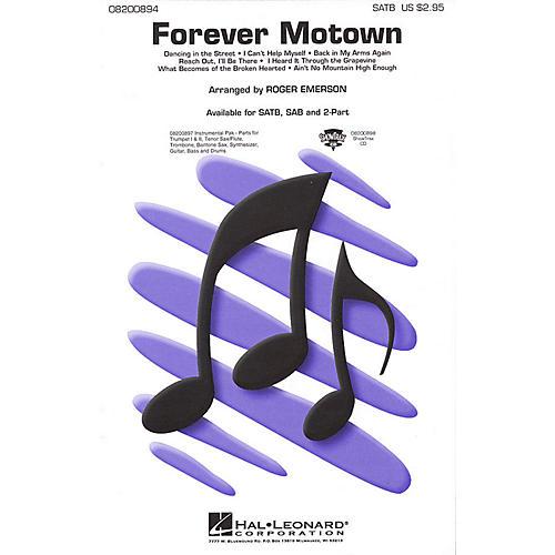 Hal Leonard Forever Motown (Medley) SATB arranged by Roger Emerson