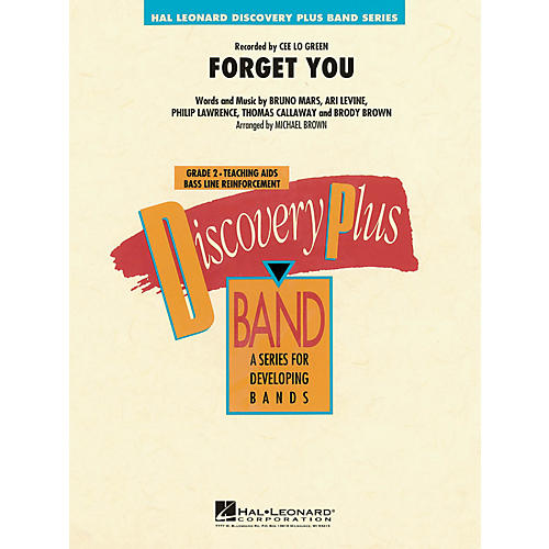 Hal Leonard Forget You - Discovery Plus! Band Series Level 2