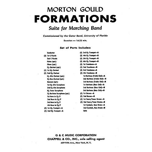 G. Schirmer Formations (Study Score) Concert Band Composed by Morton Gould