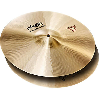 Paiste Formula 602 Medium Hi-Hat (Pair)