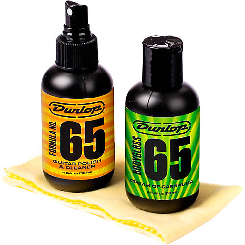 Dunlop Formula 65 Guitar Polish Kit