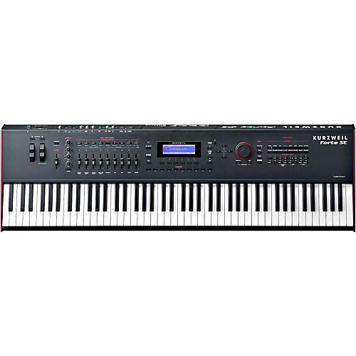 Kurzweil Forte SE 88-Key Piano Black