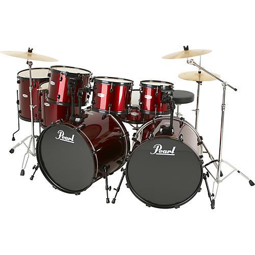 Pearl Forum 8-Piece Double-Bass Drum Set