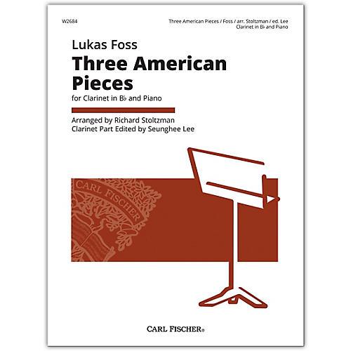 Carl Fischer Foss 3 American Pieces