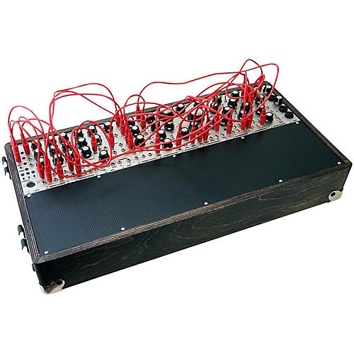 open box pittsburgh modular synthesizers foundation 3 1plus modular analog synthesizer. Black Bedroom Furniture Sets. Home Design Ideas