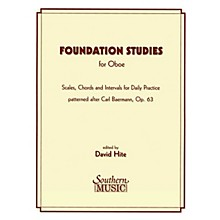 Southern Foundation Studies (Oboe) Southern Music Series Arranged by David Hite
