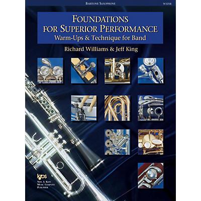 KJOS Foundations for Superior Performance Bari Sax