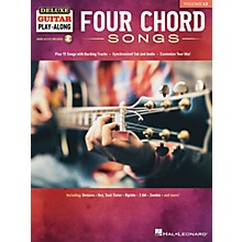 Hal Leonard Four Chord Songs Deluxe Guitar Play-Along Volume 13 Book/Audio Online
