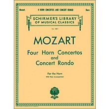 G. Schirmer Four Horn Concertos And Concert Rondo for The Horn with Piano Accompaniment