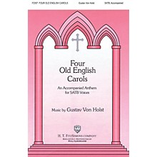 H.T. FitzSimons Company Four Old English Carols SATB composed by Gustav Holst