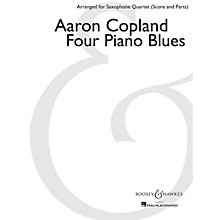 Boosey and Hawkes Four Piano Blues Boosey & Hawkes Chamber Music Book  by Aaron Copland Arranged by Paul Cohen