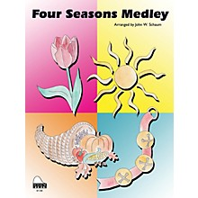 SCHAUM Four Seasons Medley Educational Piano Series Softcover