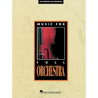 G. Schirmer Four Studies for School Orchestra, Op. 21, No. 5 (Full Score) Score Composed by Paul Turok
