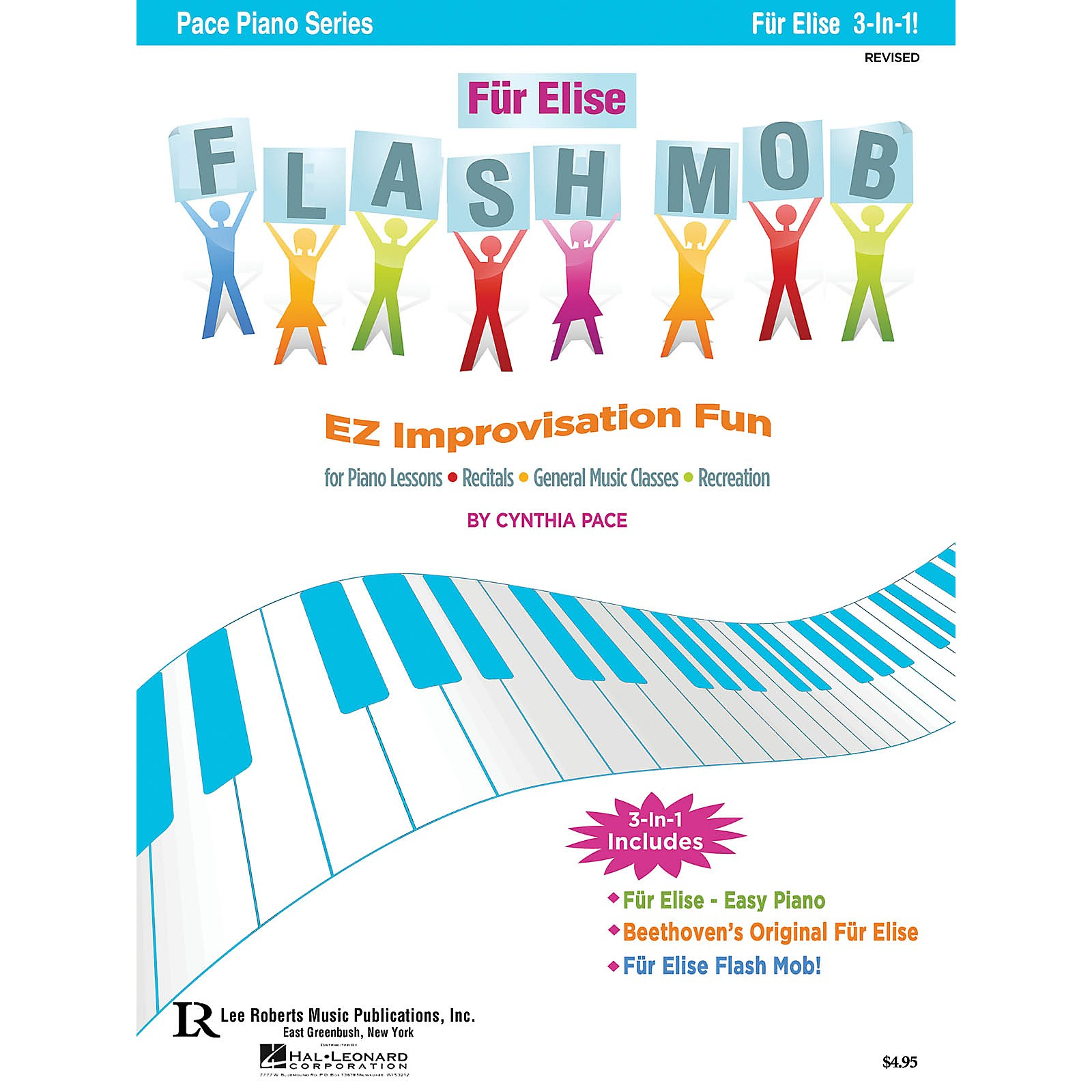 Lee Roberts Für Elise Flash Mob Pace Piano Education Series Composed by Cynthia Pace