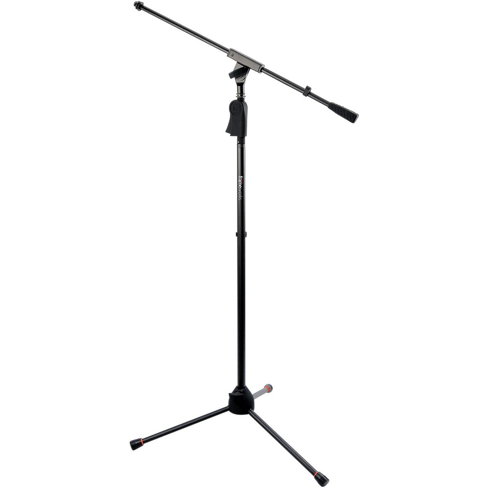 Gator Frameworks GFW-MIC-2110 Deluxe Tripod Mic Stand with Single Section Boom