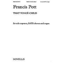 Music Sales Francis Pott: That Yonge Child Music Sales America Series