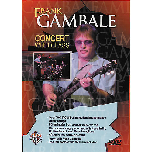 Alfred Frank Gambale - Concert with Class DVD