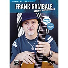 Alfred Frank Gambale: Acoustic Improvisation DVD