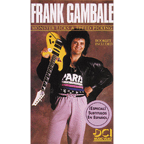 Alfred Frank Gambale Monster Licks - Speed Video