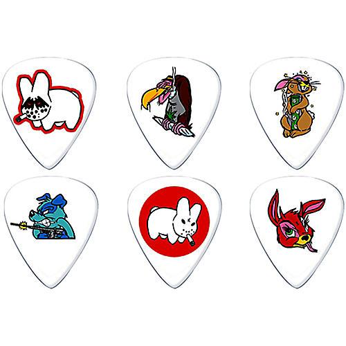 Dunlop Frank Kozik Design Guitar Picks 6 Pack