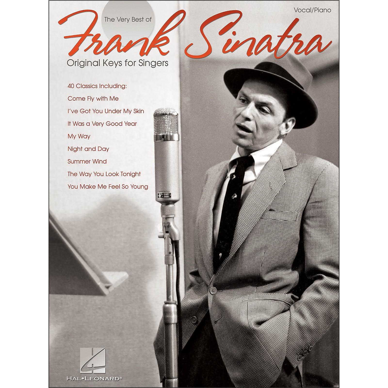 Hal Leonard Frank Sinatra - The Very Best Original Keys for Singers Vocal / Piano