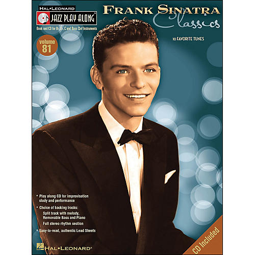 Hal Leonard Frank Sinatra ClassicsJazz Play-Along Volume 81 Book/CD