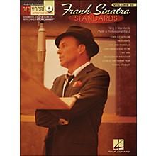 Hal Leonard Frank Sinatra Standards - Pro Vocal Series Volume 20 Book/CD